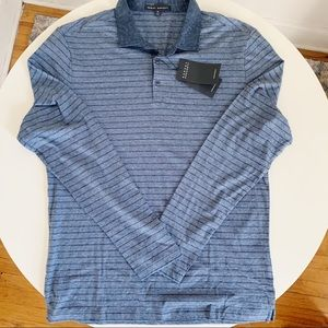 Robert Barakett Wellington Long Sleeve Polo